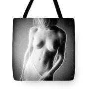 Fractal Nude C475 Tote Bag
