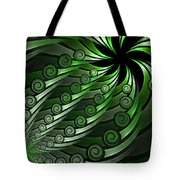 Fractal On The Way Tote Bag