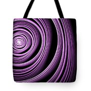 Fractal Purple Swirl Tote Bag