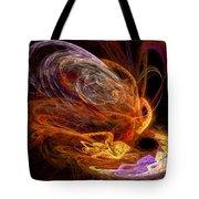 Fractal - Rise Of The Phoenix Tote Bag
