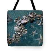 Fractal Sea Life Tote Bag