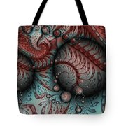 Fractal Somewhere 2 Tote Bag