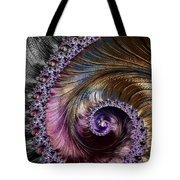 Fractal Spiral 2 - A Fractal Abstract Tote Bag