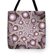 Fractal Stars Tote Bag