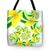 Fractal Summer Desire Tote Bag