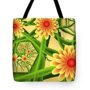 Fractal Summer Pleasures 2 Tote Bag