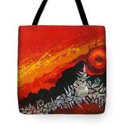 Fractal Sunrise Tote Bag