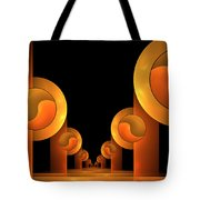 Fractal The Hall Tote Bag