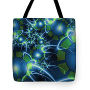 Fractal Time Travel Tote Bag