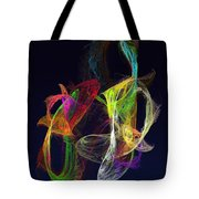 Fractal - Tropical Fish Tote Bag