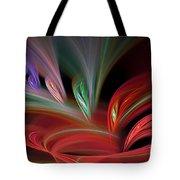 Fractal Vortex Swirl Tote Bag