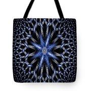 Fractal Weave Tote Bag