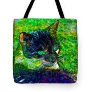Fractalias Feline Tote Bag
