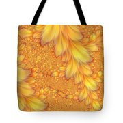 Fractals Of A Feather Tote Bag