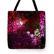 Fractured Color Tote Bag