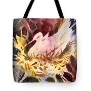 Fractured Fowl Tote Bag