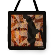 Fractured Overlay I Tote Bag