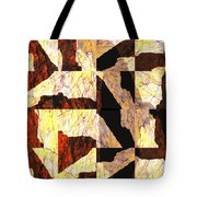 Fractured Overlay Il Tote Bag