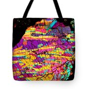 Fractured Sunrise On Planet Magoo Tote Bag