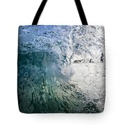 Fractured Tube. Tote Bag by Sean Davey