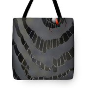 Fractured Web Tote Bag