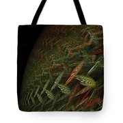 Fragile Biosphere Tote Bag