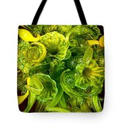 Fragile Flowers Palm Springs Tote Bag