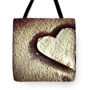 Imprint On My Heart Tote Bag