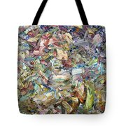 Roadside Fragmentation Tote Bag