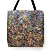 Fragmented Fall Tote Bag