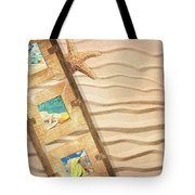 Frame With Postcards Tote Bag by Amanda Elwell