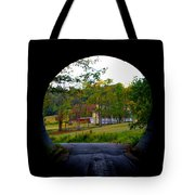 Framed By A Tunnel Tote Bag