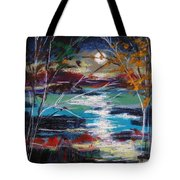 Framed By Moonlight Tote Bag