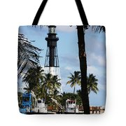 Framed By The Tropics Tote Bag