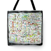 Framed Density Tote Bag