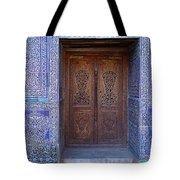 Framed Door In Kheiva Tote Bag