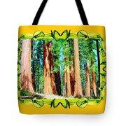 Framed Sequoias Tote Bag