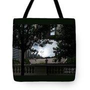 Framing Cloudgate Tote Bag