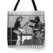 Jamming In Oakland 1976 Tote Bag