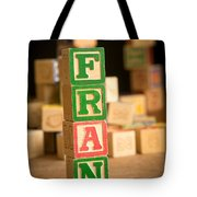 Fran - Alphabet Blocks Tote Bag
