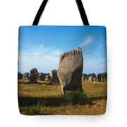 France Brittany Carnac Ancient Megaliths  Tote Bag
