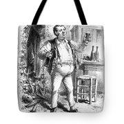 France: Enjoying Wine Tote Bag