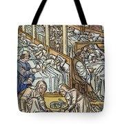 France: Hospital, C1500 Tote Bag