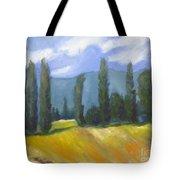 France Landscape Tote Bag