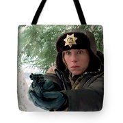 Frances Mcdormand As Marge Gunderson In The Film Fargo By Joel And Ethan Coen Tote Bag