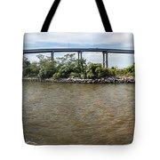 Francis Scott Key Bridge - Pano Tote Bag