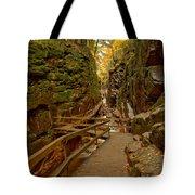 Franconia Notch Flume Gorge Boardwalk Tote Bag