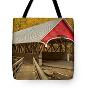 Franconia Notch Flume Gorge Bridge Tote Bag