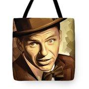 Frank Sinatra Artwork 2 Tote Bag