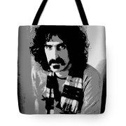 Frank Zappa - Chalk And Charcoal 2 Tote Bag by Joann Vitali